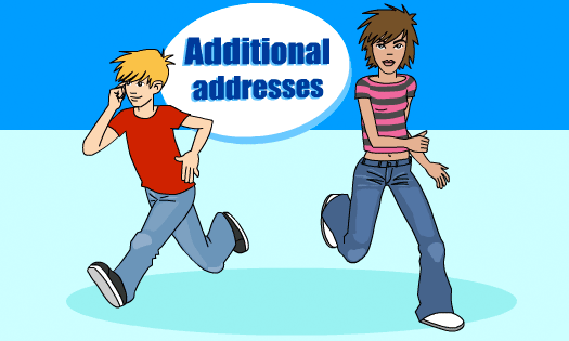 Additional addresses